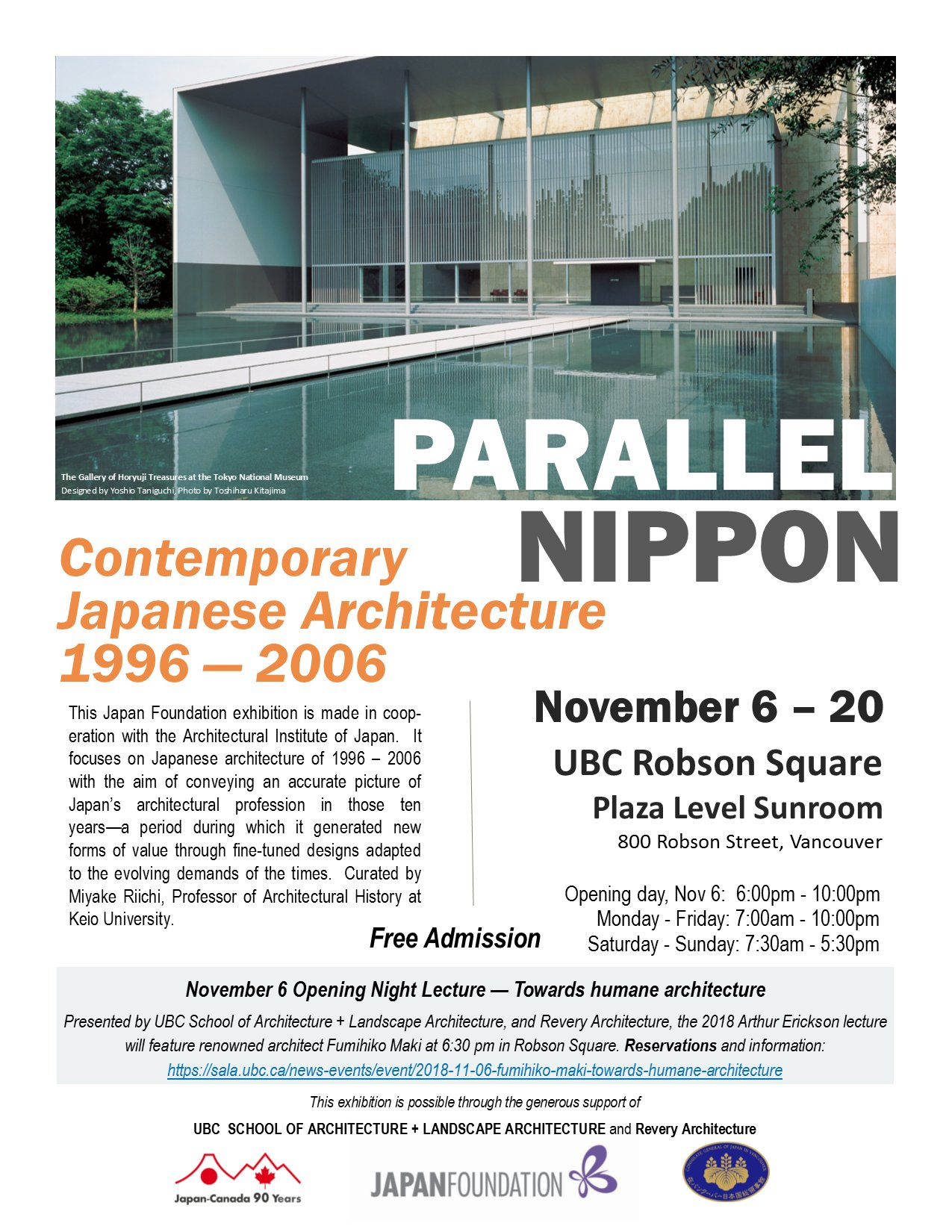 PARALLEL NIPPON: Contemporary Japanese Architecture 1996 – 2006